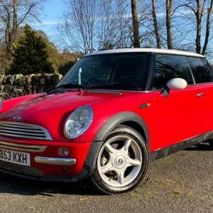 2003 mini cooper 3 door hatchback