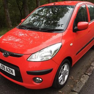 2008 Red Hyundai i10