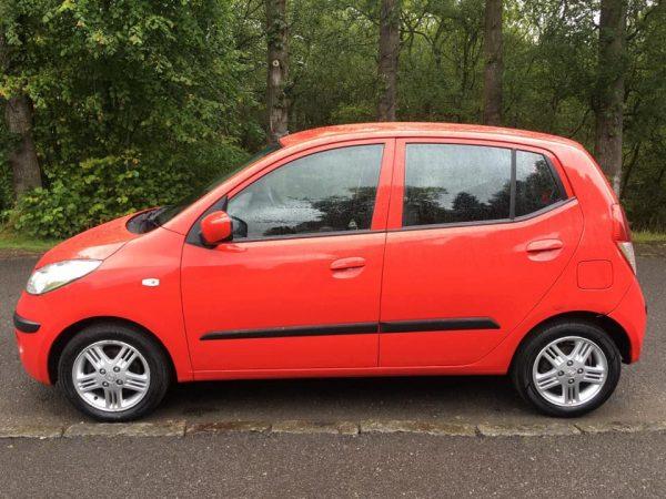 2008 Red Hyundai i10