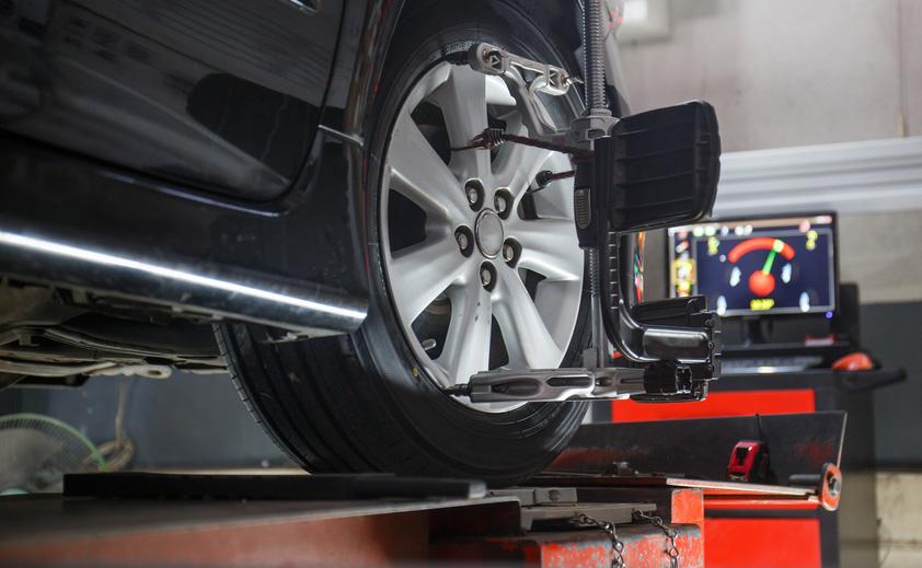 vehicle wheel alignment glasgow